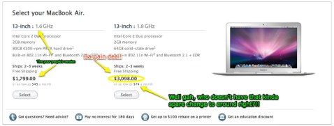 MacBook Air Prices