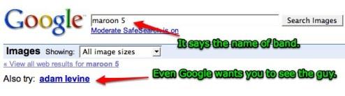 google suggestions levine